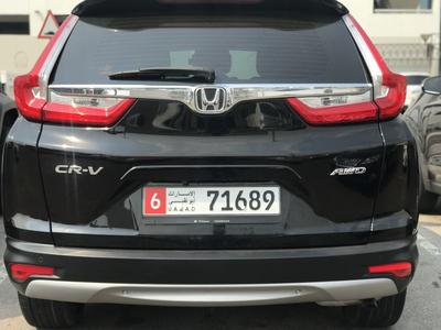 Honda CR-V 2017 Honda CRV AWD 2017 GCC under warranty full op...