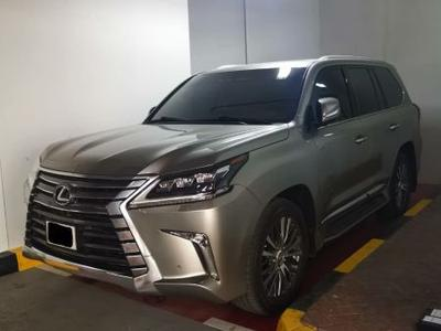 Lexus LX-Series 2017 LEXUS LX 570 2017 ALFUTTAIM FIRST OWNER