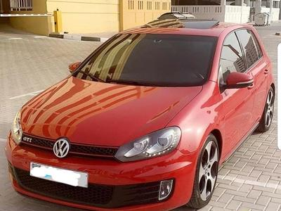 Volkswagen GTI 2012 Lady Driven car at Best Condition
