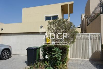 Property for Sale photos in Al Raha Gardens: Luxurious  Vacant 5BR Villa with Private Pool - 1