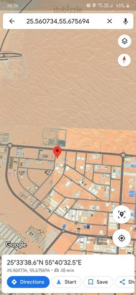 Property for Sale photos in Emirates Modern Industrial: SUPER LOCATION 29052 SQFT INDUSTRIAL LAND FOR SALE IN EMIRATES MODERN INDUSTRIAL AREA UMM AL QUWAIN - 1