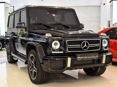 Mercedes-Benz G-Class 2017 Mercedes Benz G63
