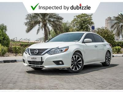Nissan Altima 2018 AED1069/month | 2018 Nissan Altima 2.5L | Ful...