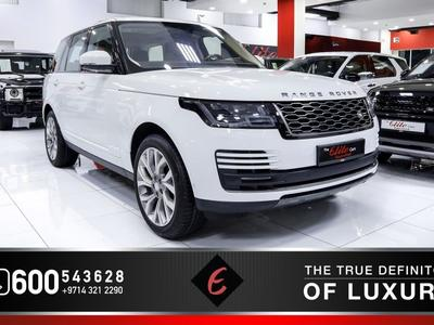 Land Rover Range Rover 2018 BRAND NEW RANGE ROVER 380HP WITH 21 INCH RIMS...