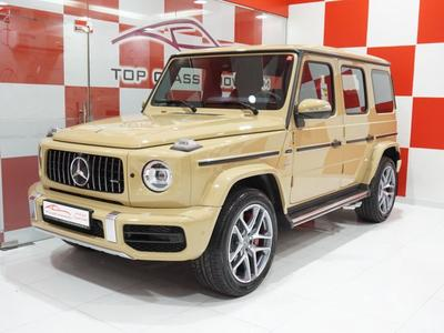Mercedes-Benz G-Class 2019 Mercedes G63 GCC 2019 Special Full option