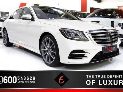 Mercedes-Benz S-Class 2019 (2019) MERCEDES S560 4-MATIC UNDER MAIN DEALE...