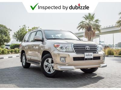 تويوتا لاند كروزر 2015 AED2743/month | 2015 Toyota Land Cruiser GXR ...