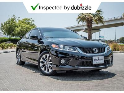 هوندا أكورد 2015 AED1030/month | 2015 Honda Accord  2.4L | Ful...