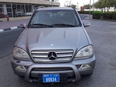 مرسيدس بنز الفئة-M 2005 MERCEDES ML 350 ..GCC..FULL OPTION...GOOD CAR
