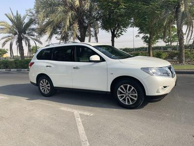 نيسان باثفايندر 2015 Nissan Pathfinder 2015,GCC,4WD,With Full Serv...