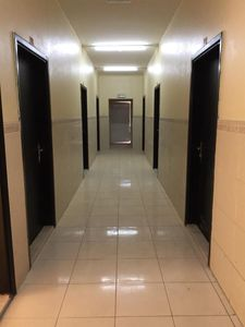 42 Labor Camp Rooms With AC. 8 Persons Capacity. AED 1,600/-. Short term rental option. Al Jurf Ind