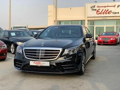 مرسيدس بنز الفئة-S 2019 [2019] MERCEDES S450//AMG//GCC// 5(Y)WARRANTY...