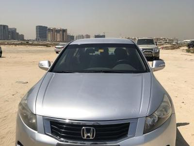 هوندا أكورد 2008 Honda Accourd silver mid options