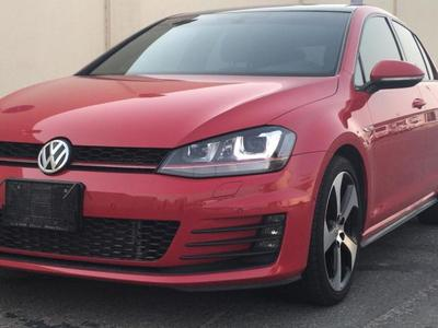 فولكسفاغن GTI 2017 VOLKSWAGEN GOLF GTI 2017 GCC LOW MILEAGE UNDE...