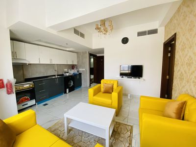 Property for Rent photos in Al Warsan 4: Brand New 1 Bedroom | Fully Furnished | Including Bills - 1