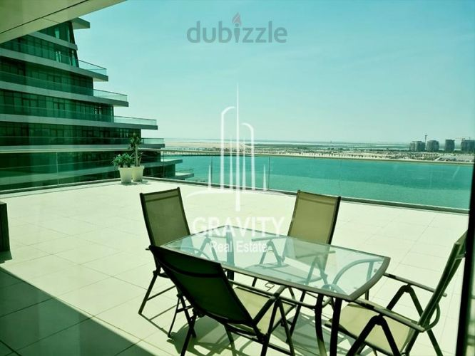 Property for Sale photos in Al Raha Beach: Biggest Size 3BR Apt W/ Breath-taking View - 1