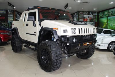 هامر H2 2008 1 OF 1 UAE LIMITED EDITION HUMMER H2 SUT 2008...