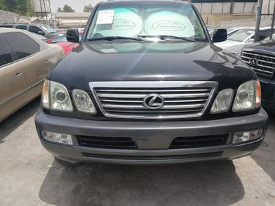 Lexus LX-Series 2005 Lexus LX470 Custom paper fresh import very cl...