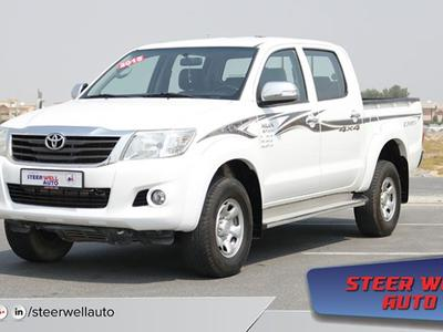 Toyota Hilux 2015 TOYOTA HILUX 4X4 FULL OPTION DOUBLE CABIN PIC...