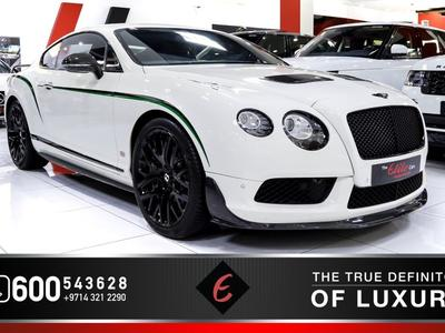 Bentley Continental GT 2015 (2015) BENTLEY CONTINENTAL GT3-R  // ONE OF 3...