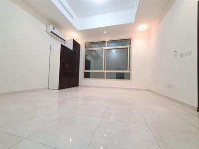 Property for Rent photos in Khalifa City A: MONTHLY 2900 Brand New Big Size Studio With Separate Kitchen Full Bathroom  Near Masdar city  In KCA - 1