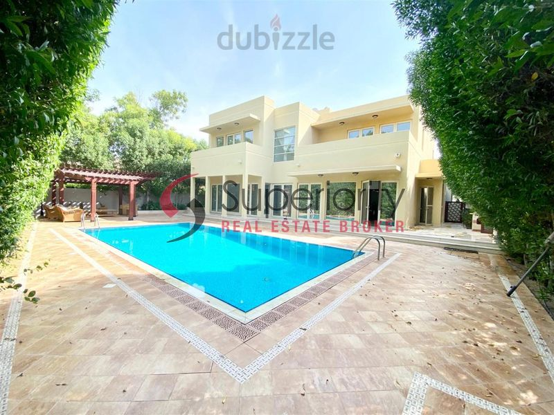 Property for Sale photos in Saheel: Vacant | Type 4 - 5BR with Maids Villa For Sale in Saheel, Arabian Ranches - 1
