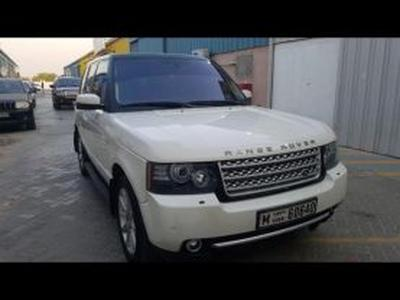 Land Rover Range Rover 2008 Range Rover Vogue Supercharged