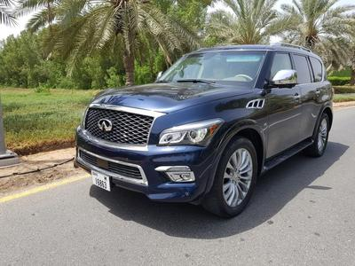 Infiniti QX80 2015 Super clean QX80 WITH 25000KM ONLY.