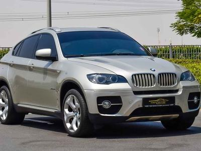 BMW X6 2011 BMW x6 2011 v6 twin turbo