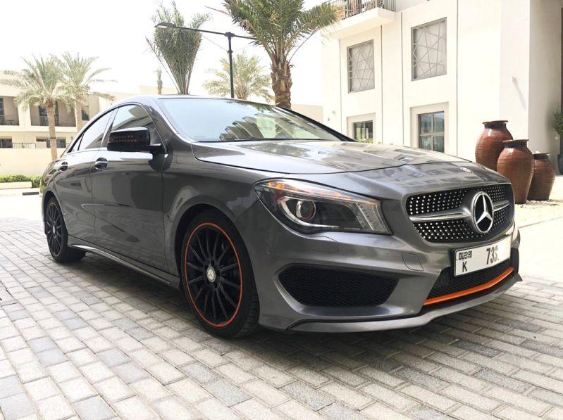 Mercedes Cla 250 Amg Orange Edition Very Good