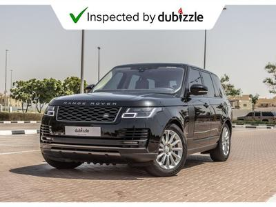 Land Rover Range Rover 2018 AED5549/month | 2018 Range Rover Vogue Hse 3....