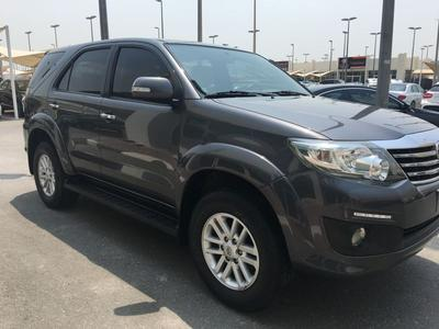 Toyota Fortuner 2015 Toyota fortuner GCC 60 Universal Accident fre...