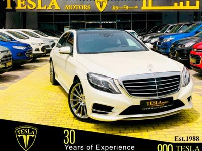 Mercedes-Benz S-Class 2015 S400 ///AMG / EMC / GCC / 2015 / DEALER WARRA...
