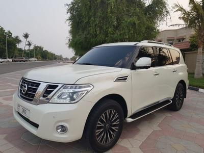 Nissan Patrol 2015 NISSAN PATROL PLUTONIUM 2015 FULL OPTION GCC