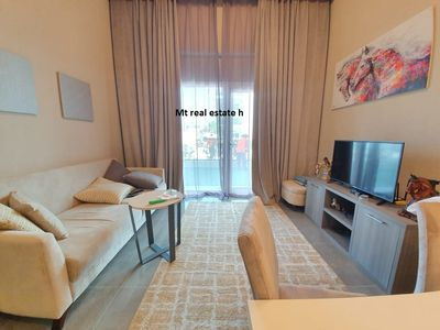 Property for Rent photos in Masdar City: European brand new full furnished studio + pvt balcony + pool + gym (yearly 45k ) in masder city - 1