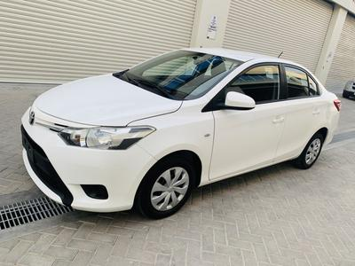 Toyota Yaris 2016 Toyota Yaris 2016 model GCC 1st owner 3 keys