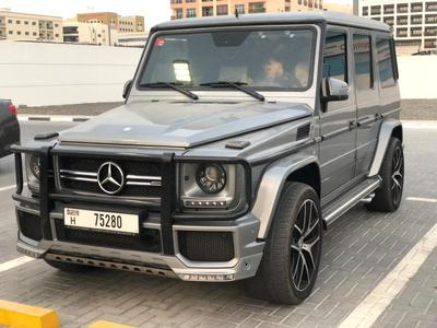 MERCEDES BENZ G63 AMG 2016 GCC