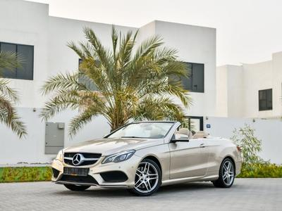 Mercedes E 400 Convertible - GCC - ...